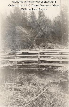 Harley Pond Dam, Fairfield, 1940