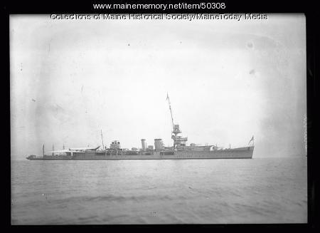 HMS Calcutta for Maine Centennial Celebration, Portland, 1922