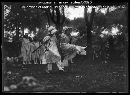 Maine Centennial dance, Portland, 1920