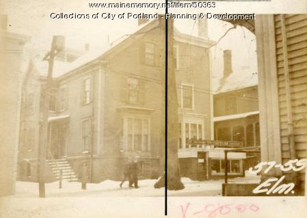 57 Elm Street, Portland, 1924