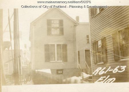 63 Elm Street, Portland, 1924