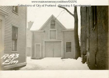 83 Elm Street, Portland, 1924