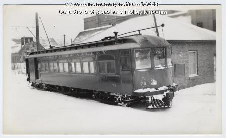 Combination car #70, Presque Isle, ca. 1940