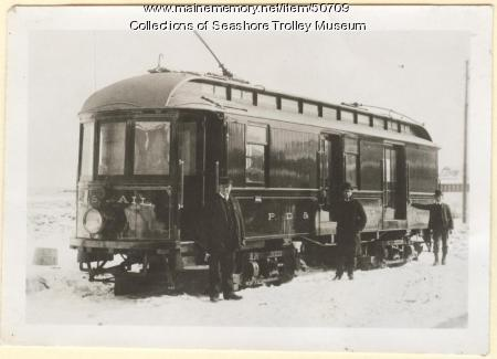 Railway post office car #108, York, ca. 1920