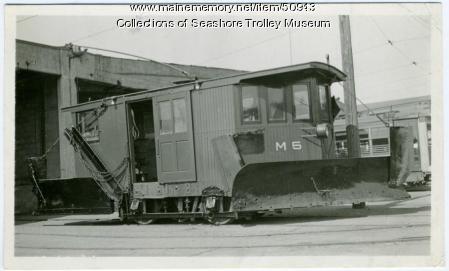 Snow plow, Bangor, ca. 1940