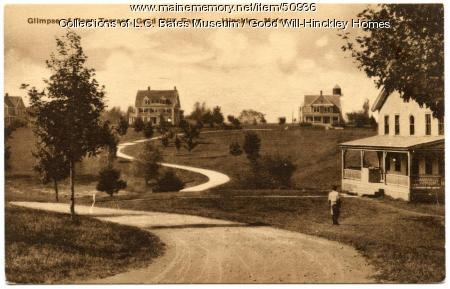 Prescott Drive at Good Will Home, Fairfield, ca. 1925