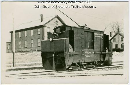 Rotary snow plow, Portland, ca. 1910