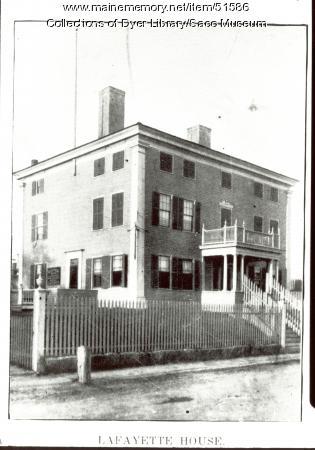 Capt. Seth Spring's Tavern, Biddeford, ca. 1900
