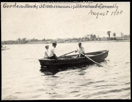Boys Rowing, Fairfield, 1908