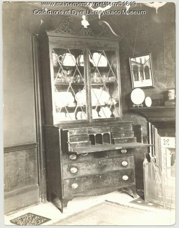 Secretary desk, Saco, 1907