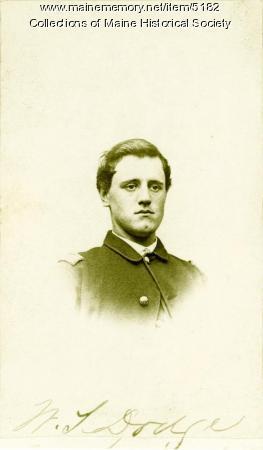 William T. Dodge, 16th Maine Infantry, 1864