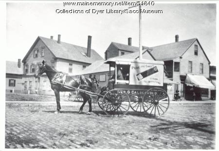 Calderwood Bread Company, Biddeford, ca. 1900