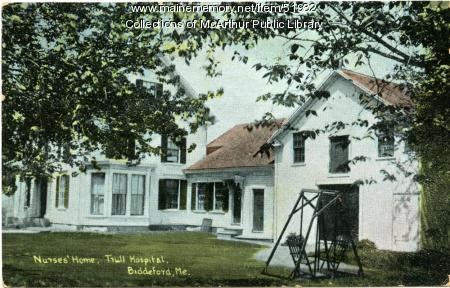 Emmeline Atwood Home for Nurses, Biddeford, ca. 1910