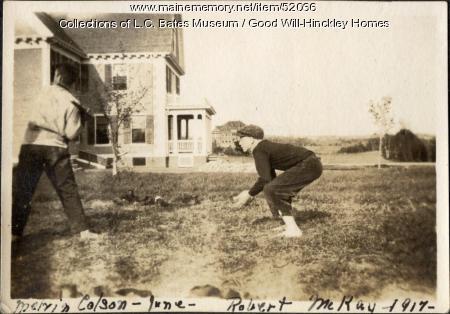 Good Will Boys at play, Fairfield, 1917