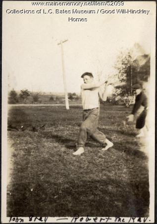Good Will baseball, Fairfield, 1917