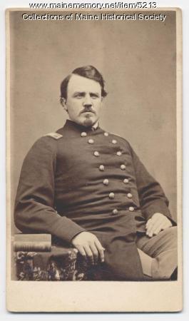 Isaac W. Starbird, Litchfield, ca. 1862