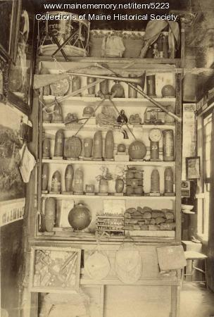 Civil war equipment and supplies, ca. 1865