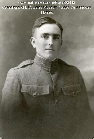 Irving Holder, 1919
