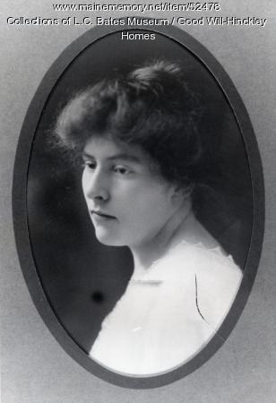 Faith Jayne Hinckley, Fairfield, 1908