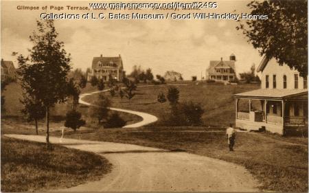 Page Terrace, Fairfield, ca. 1930