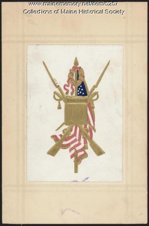Civil War emblem, ca. 1865