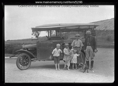 Dr. Faster and family, August 10, 1920