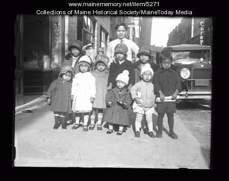 Wong children, Portland, 1926