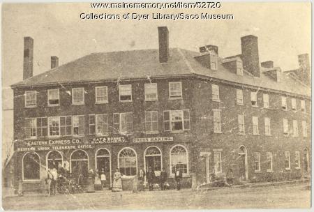 Eastern Express Co., Biddeford, ca. 1870