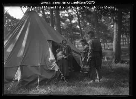 Maine Indians, Maine Centennial, Portland, 1920