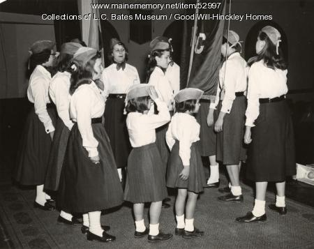 Redington-Gilman Cottage girls, Fairfield, 1959
