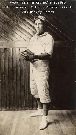 Baseball Player, Fairfield, ca. 1915