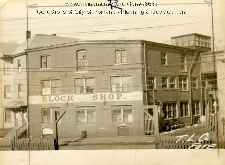 153 Fore Street, Portland, 1924