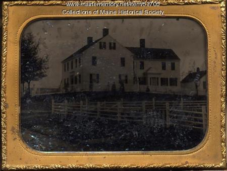 Foster Home, East Machias, ca. 1860