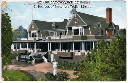 The casino at Underwood Spring Park, Falmouth, 1907