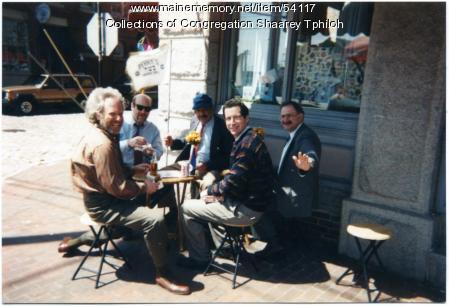 Jewish study group, Portland, ca. 1985