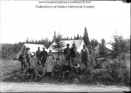 Surveying crew at Madawaska