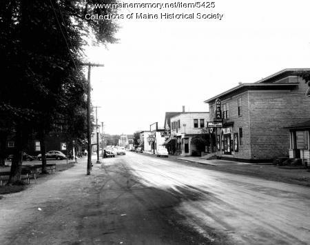 View of Millinocket, ca. 1950