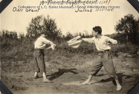 Towel Fight, Fairfield, 1919