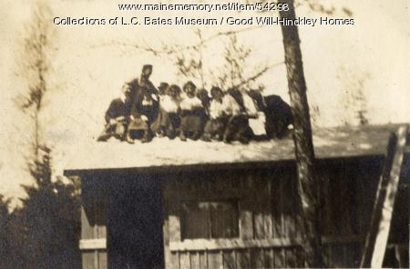 Good Will farm staff, Fairfield, ca. 1915