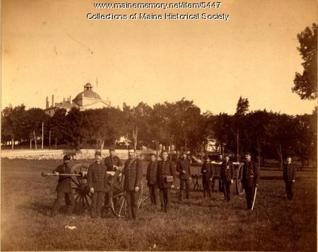 Maine Militia, Augusta, ca. 1870