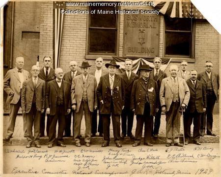 Bosworth Memorial Association, Portland
