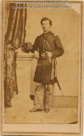 Charles E. Wheeler, 1st Mounted Artillery, ca. 1863