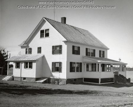 Pike Cottage, Fairfield, ca. 1960
