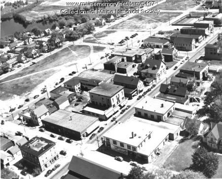 Aerial view, Millinocket, 1948