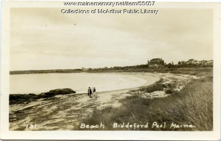 Ocean View Hotel and Biddeford Pool beach, ca. 1920