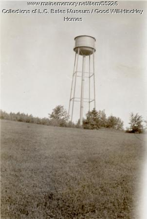 Water Tower, Fairfield, ca. 1930