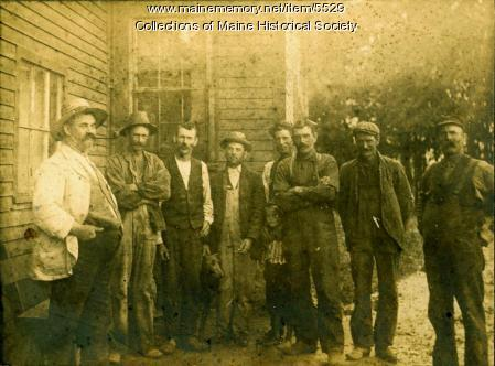 Nonesuch Farm crew, Scarborough, ca. 1900
