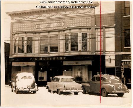 Z.L. Merchant Deptartment Store, Norway, ca. 1954