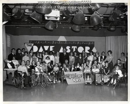 Dave Astor Cerebral Palsy Show, Portland, 1964