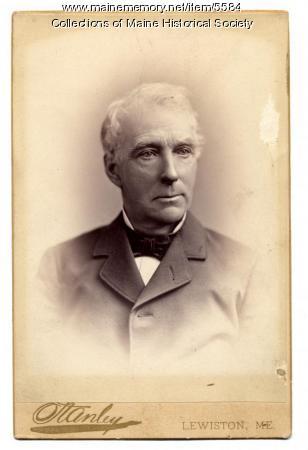Alonzo Garcelon, Lewiston, ca. 1890